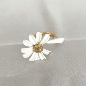 Kate Spade Beautiful Daisy Flower Ring Size7